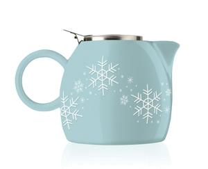 普格陶瓷茶壺 - 雪花 Snowflake