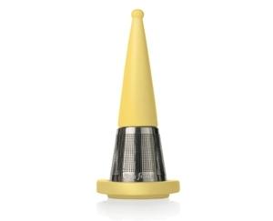 露思錐型茶葉濾器-鵝黃 Luci Loose Tea Infuser Yellow