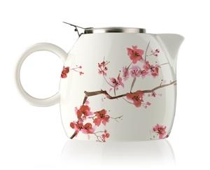 普格陶瓷茶壺 - 櫻花 Cherry Blossoms