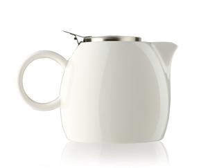 普格陶瓷茶壺 - 白瓷 Orchid White